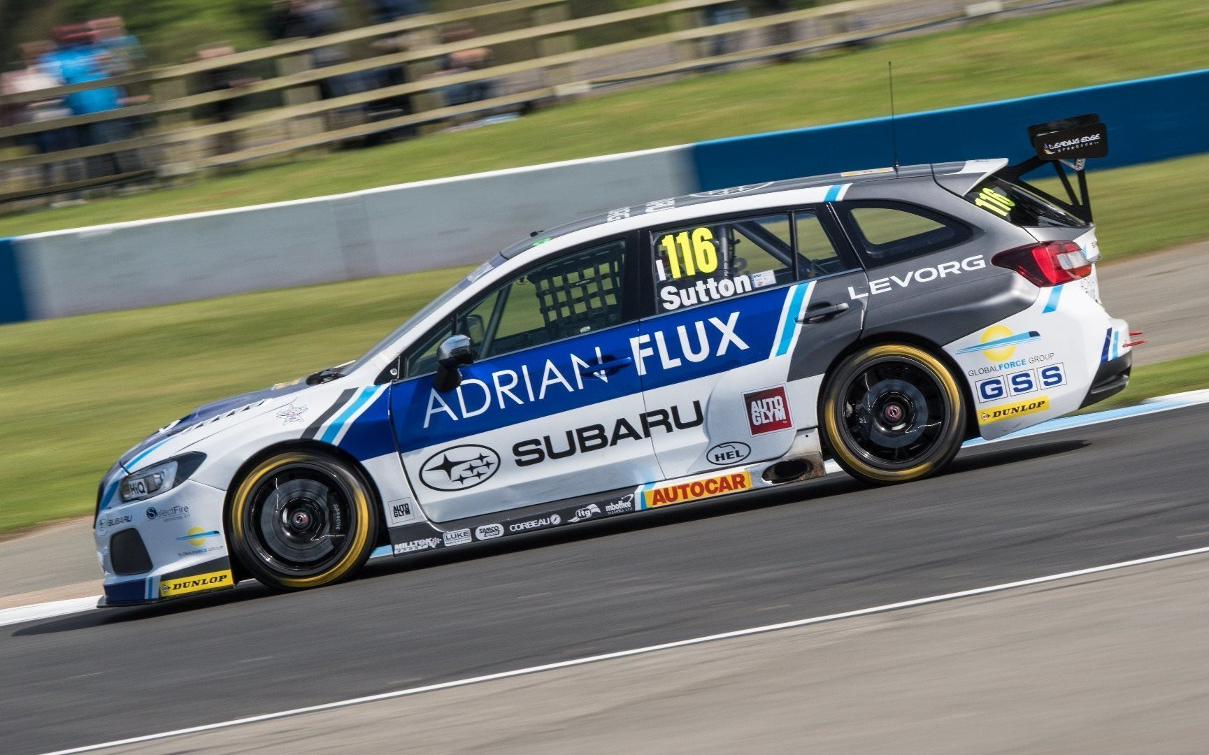 DONINGTON PARK SUBARU RACE REPORT